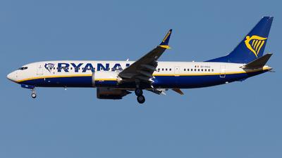 A picture of EIHGG - Boeing  737 MAX 8200 - Ryanair - © John Ballantyne