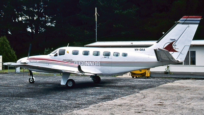 VH-OAA - Cessna 441 Conquest - Private