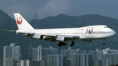 JA8122 - Boeing 747-246B - Japan Airlines (JAL)