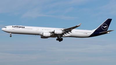 A picture of DAIHH - Airbus A340642 - [0566] - © Maximilian Haertl