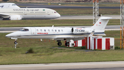 TC-CMB - Bombardier Learjet 45 - Turkey - Ministry of Health