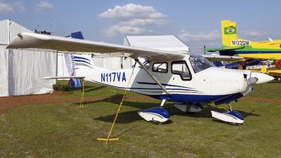 N117VA - Vulcanair V1.0 - Private