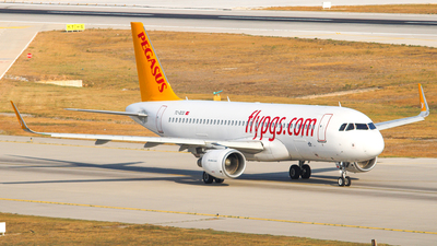 A picture of TCDCG - Airbus A320216 - Pegasus Airlines - © Harun Arda