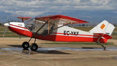 EC-YKF - Rans S-6ES Coyote II - Private