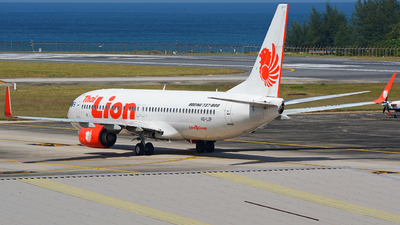 A picture of HSLUP - Boeing 7378GP - Thai Lion Air - © SOMPOL JUNLAMART