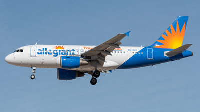 N311NV - Airbus A319-111 - Allegiant Air