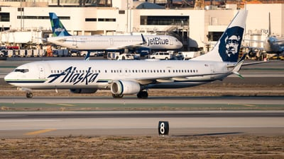 A picture of N491AS - Boeing 737990(ER) - Alaska Airlines - © arora7dm