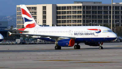 A picture of GDBCK - Airbus A319131 - British Airways - © Javier Rodriguez - Amics de Son Sant Joan