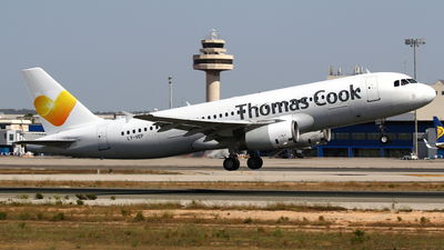 LY-VEP - Airbus A320-233 - Thomas Cook Airlines (Avion Express)