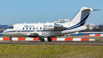 VH-URR - Bombardier CL-600-2B16 Challenger 604 - LifeFlight Australia