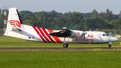 A picture of OOVLS - Fokker 50 - Air Antwerp - © C. v. Grinsven
