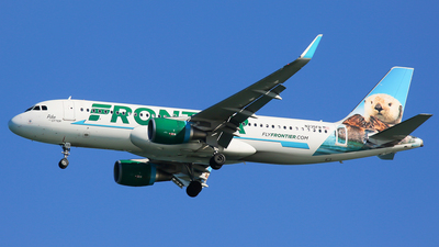 N235FR - Airbus A320-214 - Frontier Airlines