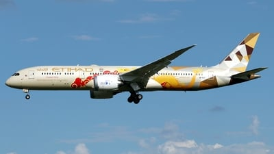A6-BLF - Boeing 787-9 Dreamliner - Etihad Airways