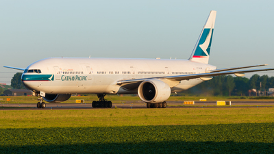 B-HNR - Boeing 777-367ER - Cathay Pacific Airways