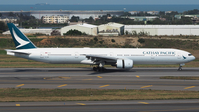 A picture of BHNS - Boeing 77731H - Cathay Pacific - © Rex Tsai