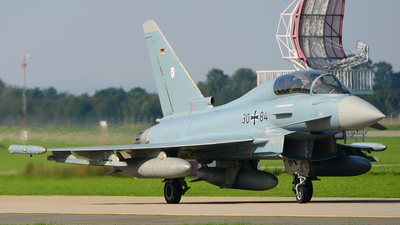 30-84 - Eurofighter Typhoon EF2000(T) - Germany - Air Force
