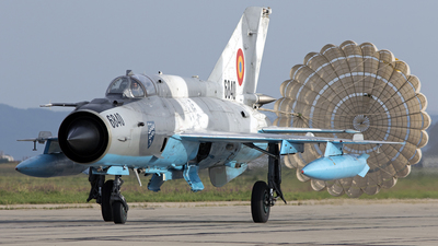 6840 - Mikoyan-Gurevich MiG-21MF Lancer C - Romania - Air Force