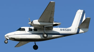 A picture of N415BH - Aero Commander 500B - Central Airlines - © DJ Reed - OPShots Photo Team