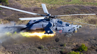 12 - Mil Mi-28N Havoc - Russia - Air Force