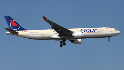 TC-OCA - Airbus A330-322 - Onur Air