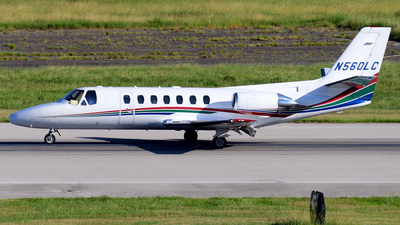 N560LC - Cessna 560 Citation V - Private