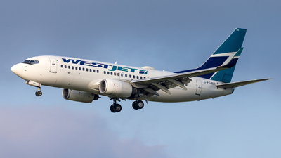C-FGWJ - Boeing 737-7CT - WestJet Airlines