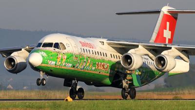A picture of HBIYS - Avro RJ100 - [E3381] - © Chris_N