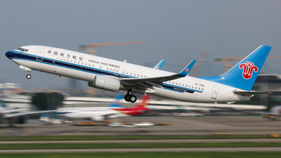 A picture of B1736 - Boeing 73781B - China Southern Airlines - © Tang Keke
