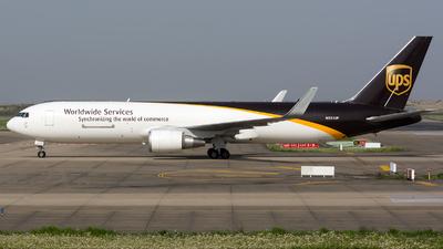 A picture of N351UP - Boeing 76734AF(ER) - UPS - © BobH