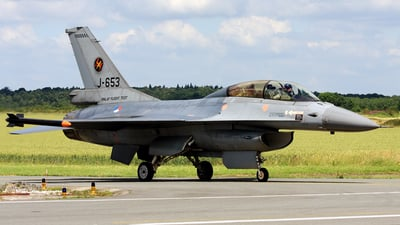 J-653 - General Dynamics F-16BM Fighting Falcon - Netherlands - Royal Air Force