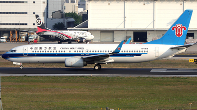 A picture of B1919 - Boeing 73781B - China Southern Airlines - © Snake_ZSAM
