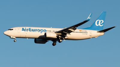 A picture of ECMPG - Boeing 73785P - Air Europa - © paoloz99