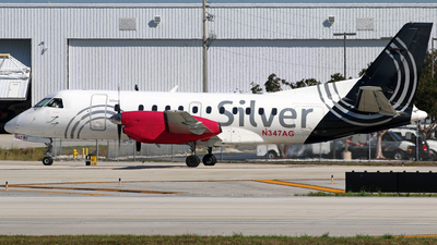 A picture of N347AG - Saab 340B - Silver Airways - © Brian T Richards