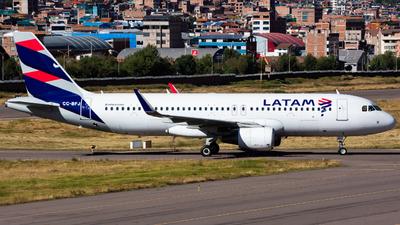 CC-BFJ - Airbus A320-214 - LATAM Airlines