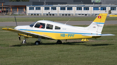 HB-PPF - Piper PA-28-161 Warrior III - Flugschule Grenchen