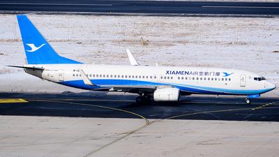 A picture of B1302 - Boeing 73785C - Xiamen Air - © MingyaoLeonardo