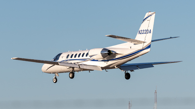 N222DA - Cessna 560 Citation Ultra - Private