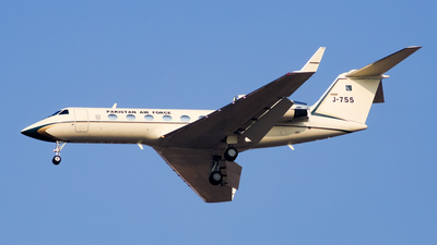 A picture of J755 - Gulfstream IVSP -  - © Shajie Hussain