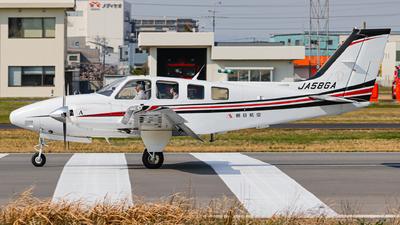 JA58GA - Beechcraft G58 Baron - Asahi Air