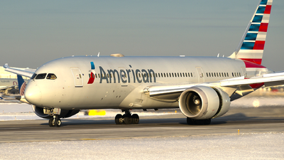 A picture of N811AB - Boeing 7878 Dreamliner - American Airlines - © Davis Dore