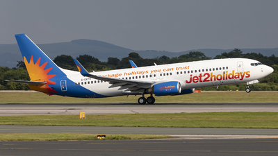 A picture of GDRTH - Boeing 7378BK - Jet2 - © X Pan