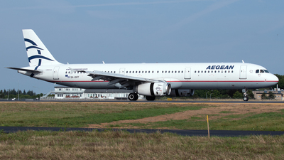 A picture of SXDGT - Airbus A321231 - Aegean Airlines - © PAUL LINK