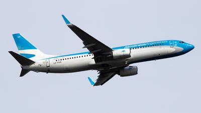 LV-FUA - Boeing 737-8HX - Aerolíneas Argentinas