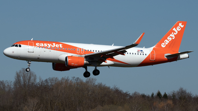 A picture of OEICD - Airbus A320214 - easyJet - © PAUL LINK