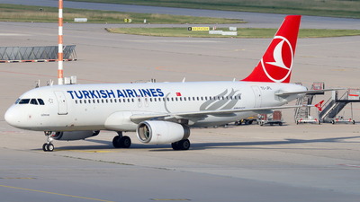 A picture of TCJPL - Airbus A320232 - Turkish Airlines - © Justin Stöckel