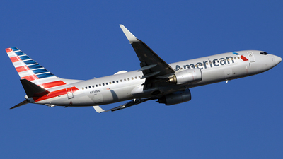 A picture of N816NN - Boeing 737823 - American Airlines - © Diego Mancilla.