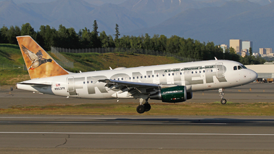 N953FR - Airbus A319-112 - Frontier Airlines