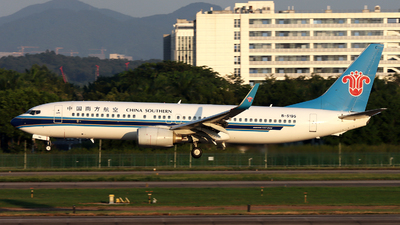 A picture of B5195 - Boeing 73781B - China Southern Airlines - © Danny-Long