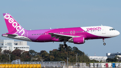 JA828P - Airbus A320-214 - Peach Aviation