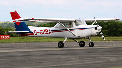 G-SHBA - Reims-Cessna F152 - Private